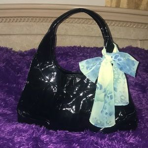 Sigrid Olsen authentic patent leather hobo bag